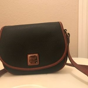 Dooney and Bourke Pebble Grain Hallie Shoulder Bag